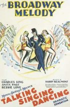 Broadway Melody - Plakat zum Film