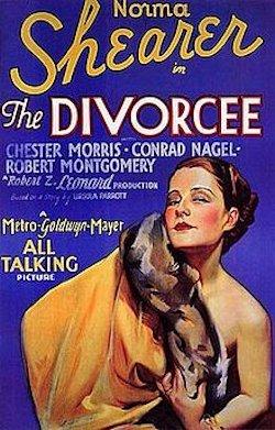 The Divorcee - Plakat zum Film