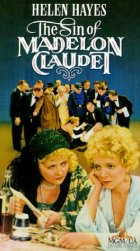 The Sin Of Madelon Claudet - Plakat zum Film