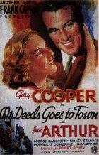 Mr. Deeds geht in die Stadt - Plakat zum Film