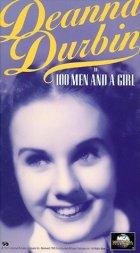 100 Mann und ein Mädchen - Plakat zum Film