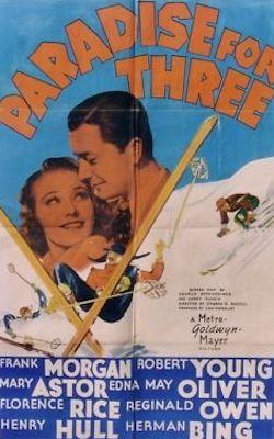 Drei Männer im Paradies - Plakat zum Film