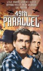 Forty-Ninth Parallel - Plakat zum Film