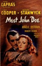 Hier ist John Doe - Plakat zum Film