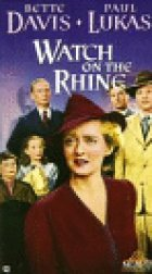 Watch On The Rhine - Plakat zum Film