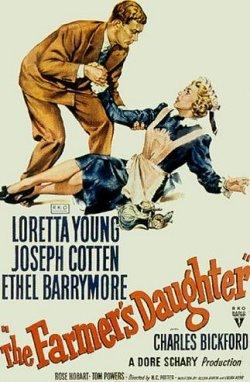 Die Farmerstochter - Plakat zum Film