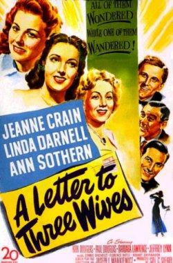 Ein Brief an drei Frauen - Plakat zum Film
