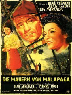 Die Mauern von Malapaga - Plakat zum Film