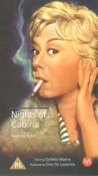 Die Nächte der Cabiria - Plakat zum Film