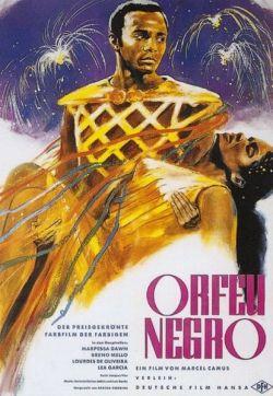 Orfeu Negro - Plakat zum Film