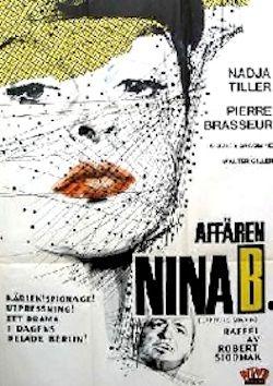 Affäre Nina B. - Plakat zum Film