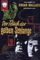 Der Fluch der gelben Schlange - Plakat zum Film