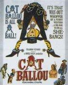 Cat Ballou - Hängen sollst du in Wyoming - Plakat zum Film