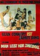 James Bond 007 - Man lebt nur zweimal - Plakat zum Film