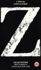 Z - Plakat zum Film