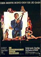 James Bond 007 - Im Geheimdienst Ihrer Majestät - Plakat zum Film