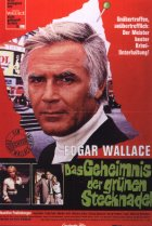 Das Geheimnis der grünen Stecknadel - Plakat zum Film