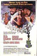 Der erste große Eisenbahnraub - Plakat zum Film