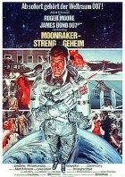 Moonraker - Streng geheim - Plakat zum Film