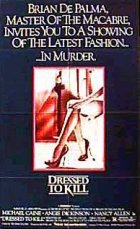 Dressed To Kill - Plakat zum Film