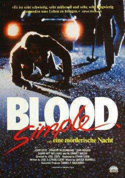 Blood Simple - Eine mörderische Nacht<br>(WIEDERAUFFÜHRUNG) - Plakat zum Film