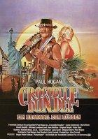 Crocodile Dundee - Ein Krokodil zum Küssen - Plakat zum Film