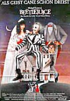 Beetlejuice - Plakat zum Film