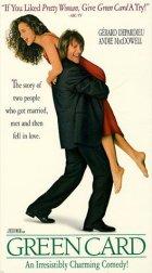 Green Card - Schein-Ehe mit Hindernissen - Plakat zum Film