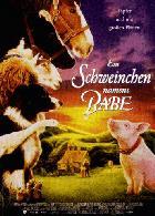 Ein Schweinchen namens Babe - Plakat zum Film