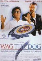 Wag The Dog - Wenn der Schwanz mit dem Hund wedelt - Plakat zum Film