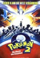 Pokemon 2: Die Macht des Einzelnen - Plakat zum Film