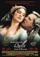 Quills - Macht der Besessenheit - Plakat zum Film