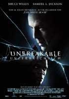 Unbreakable - Unzerbrechlich - Plakat zum Film