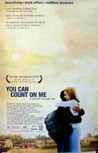 You Can Count On Me - Plakat zum Film
