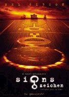 Signs - Zeichen - Plakat zum Film