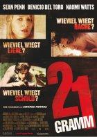 21 Gramm - Plakat zum Film