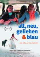 Alt, neu, geliehen und blau - Plakat zum Film