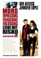 Liebe mit Risiko - Gigli - Plakat zum Film
