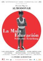 La mala educacion - Schlechte Erziehung - Plakat zum Film