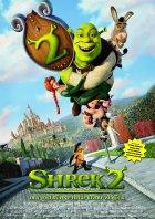Shrek 2 - Der tollkühne Held kehrt zurück - Plakat zum Film