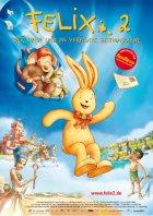 Felix 2 - Der Hase und die verflixte Zeitmaschine - Plakat zum Film