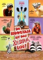 Im Rennstall ist das Zebra los - Plakat zum Film