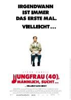 Jungfrau (40), männlich, sucht... - Plakat zum Film