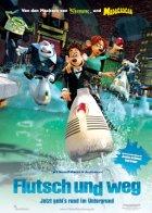 Flutsch und weg - Plakat zum Film