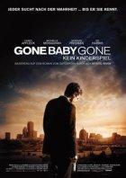 Gone Baby Gone - Kein Kinderspiel - Plakat zum Film