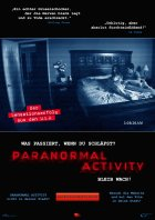 Paranormal Activity - Plakat zum Film