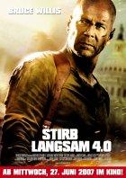 Stirb langsam 4.0 - Plakat zum Film