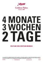Vier Monate, drei Wochen und zwei Tage - Plakat zum Film