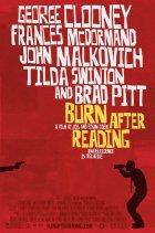 Burn After Reading - Wer verbrennt sich hier die Finger? - Plakat zum Film