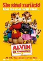 Alvin und die Chipmunks 2 - Plakat zum Film